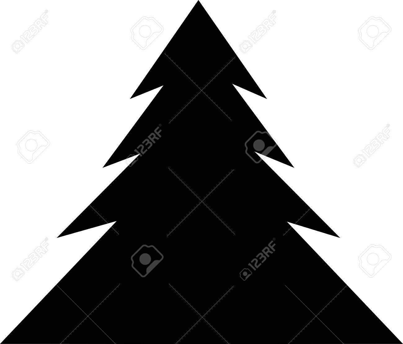 Christmas Tree Icon Christmas Tree Vector Icon Christmas Tree