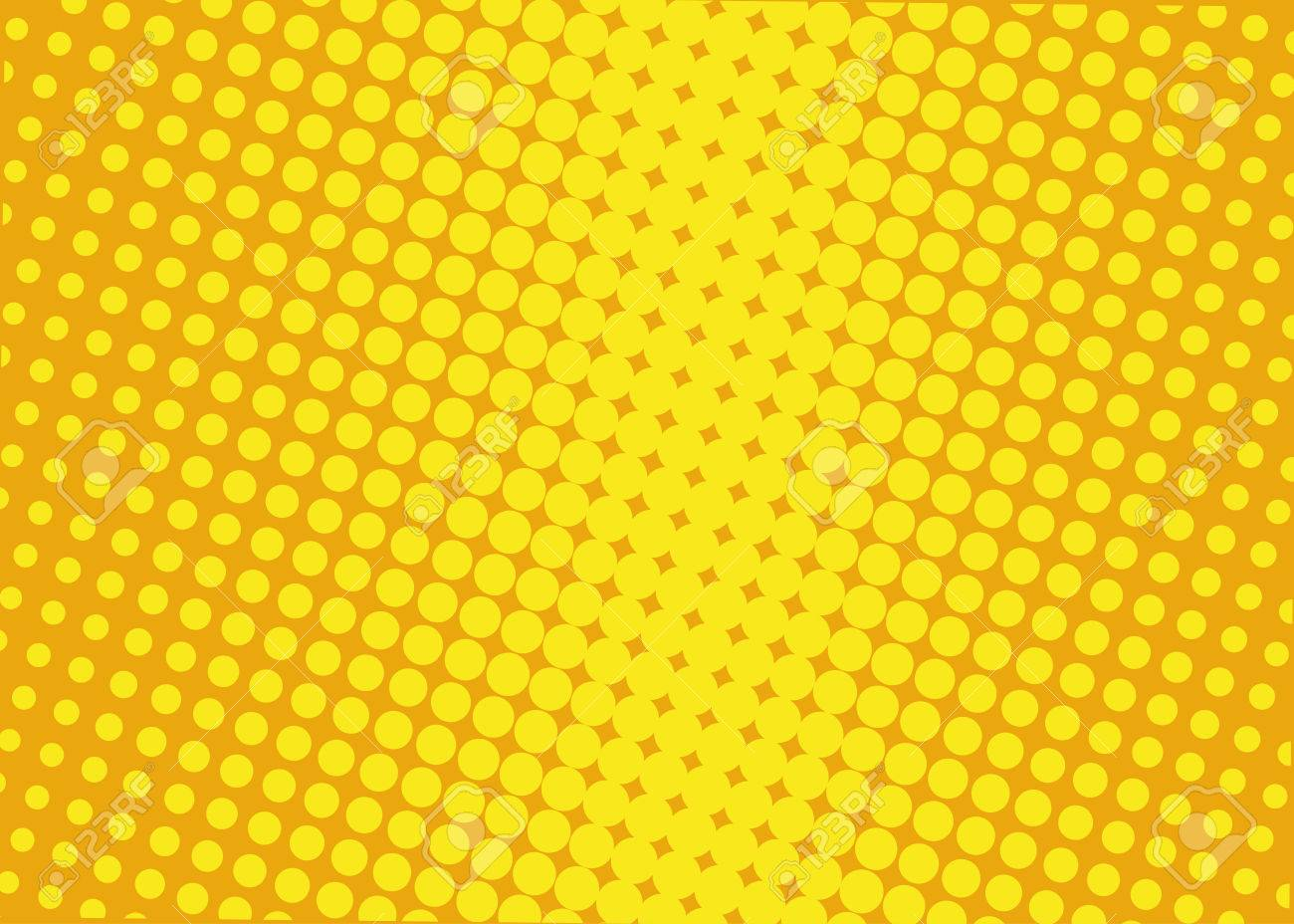 Halftone Background Comic Dotted Pattern Pop Art Retro Style