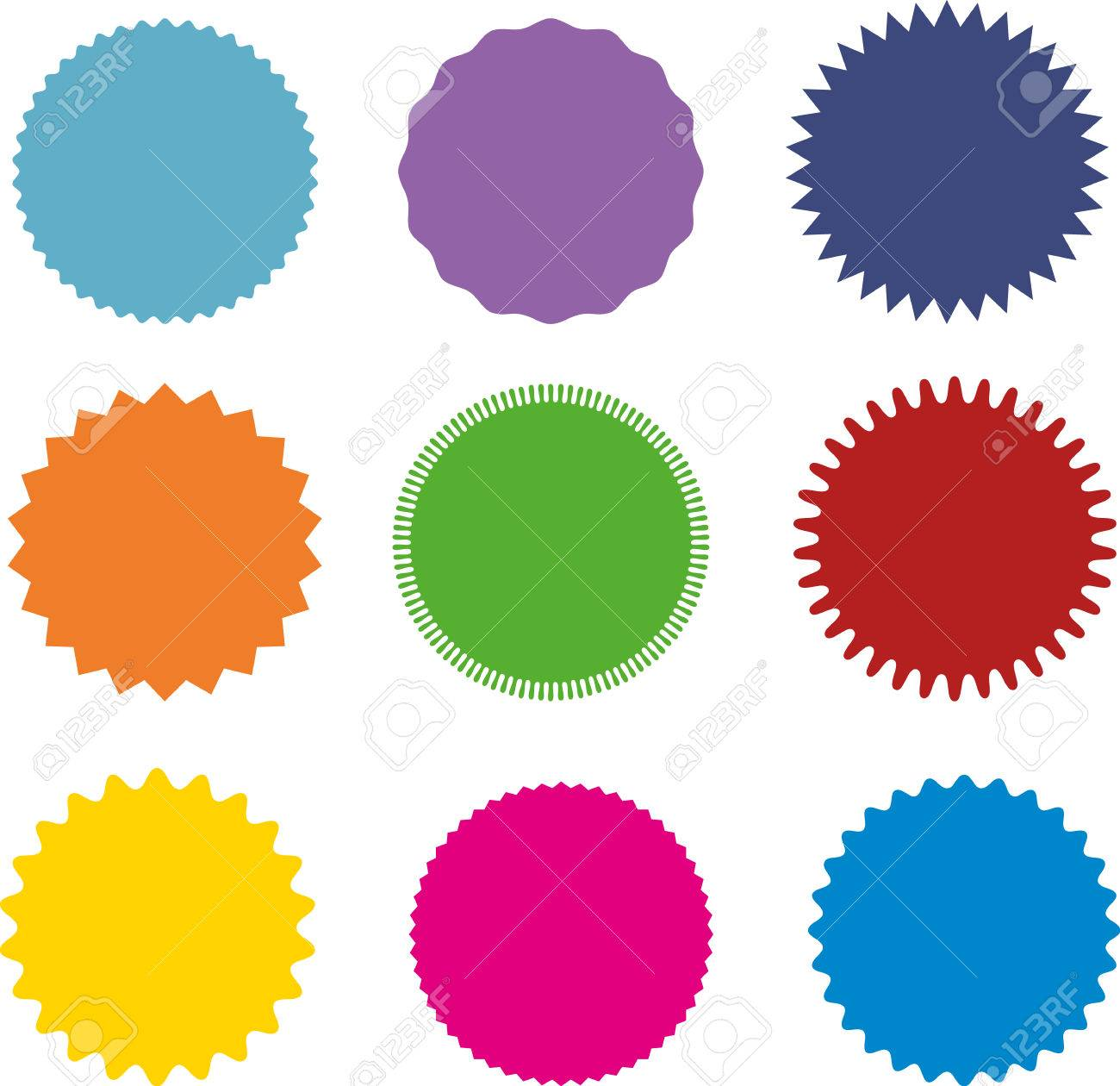 set of vector starburst sunburst badges nine different color rh 123rf com sunburst vector free download sunburst vector illustrator