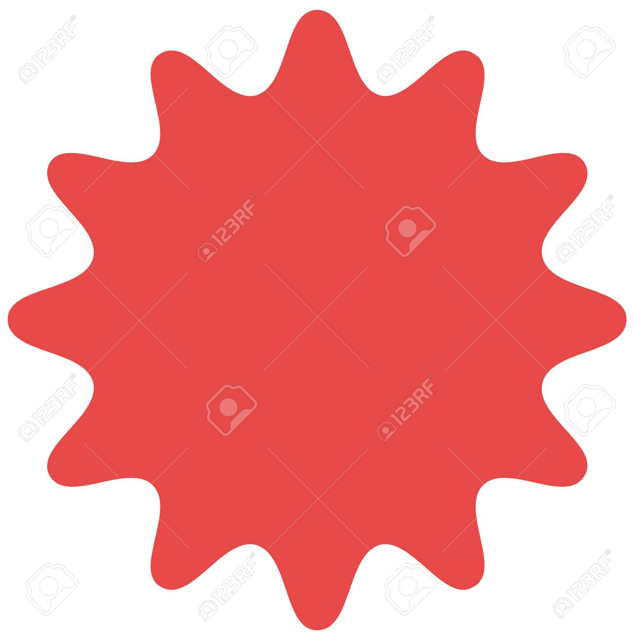 red starburst sunburst badge vintage label sticker simple rh 123rf com starburst vector art starburst vector image