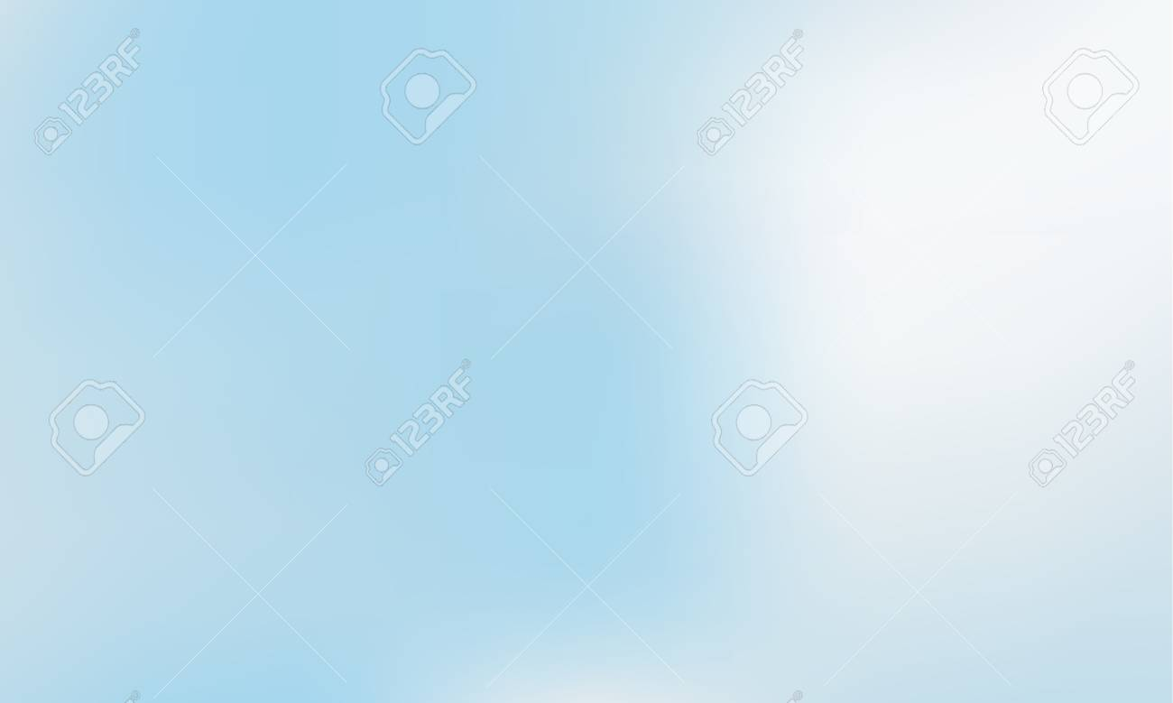 Vibrant Light Blue Gradient Background Style 80s 90s Colorful