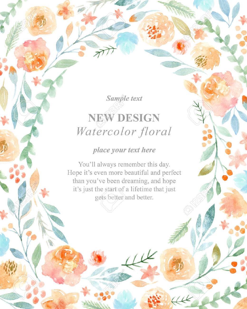watercolor flowers - 47111140