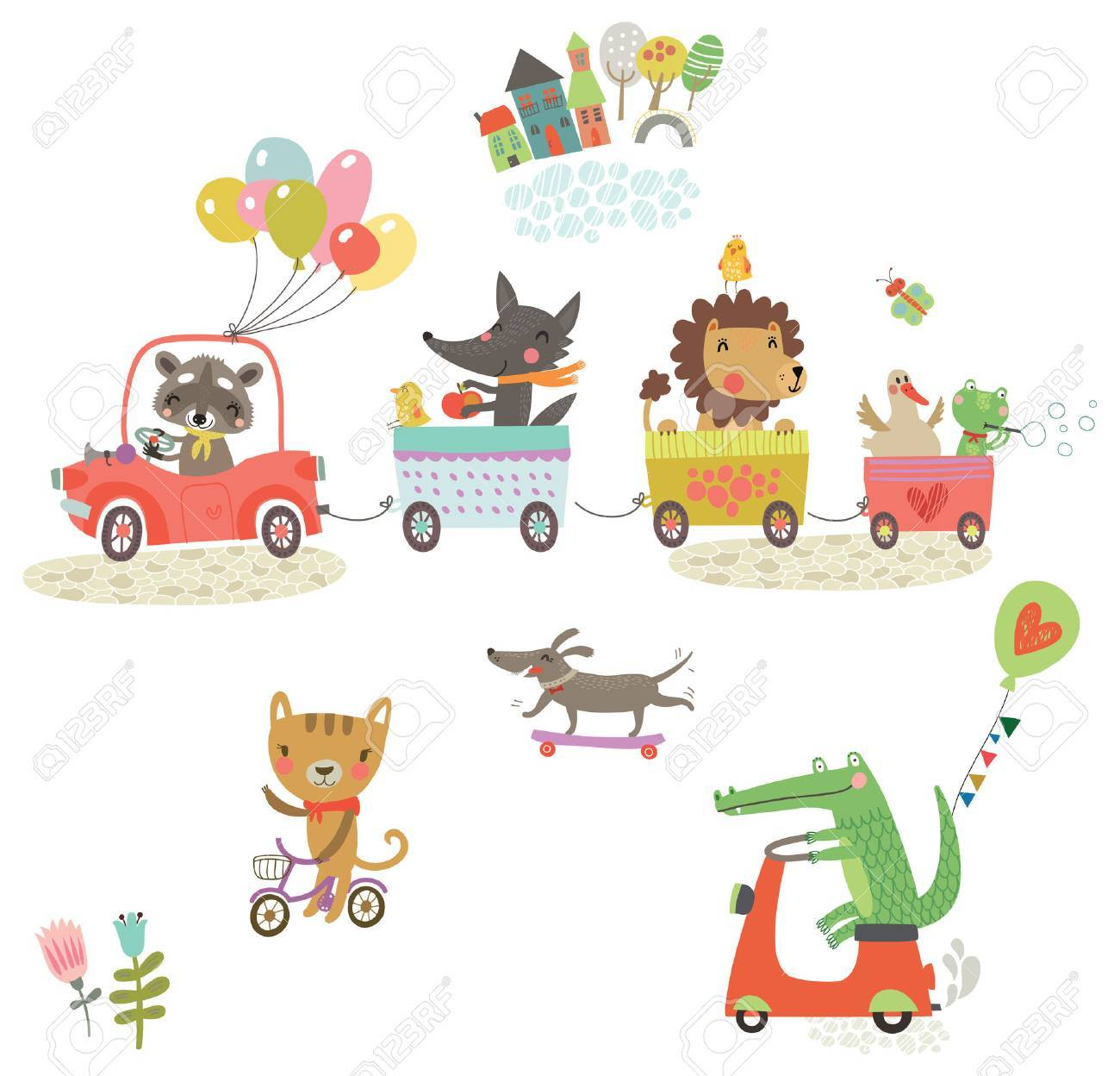 cute animals - 75067460