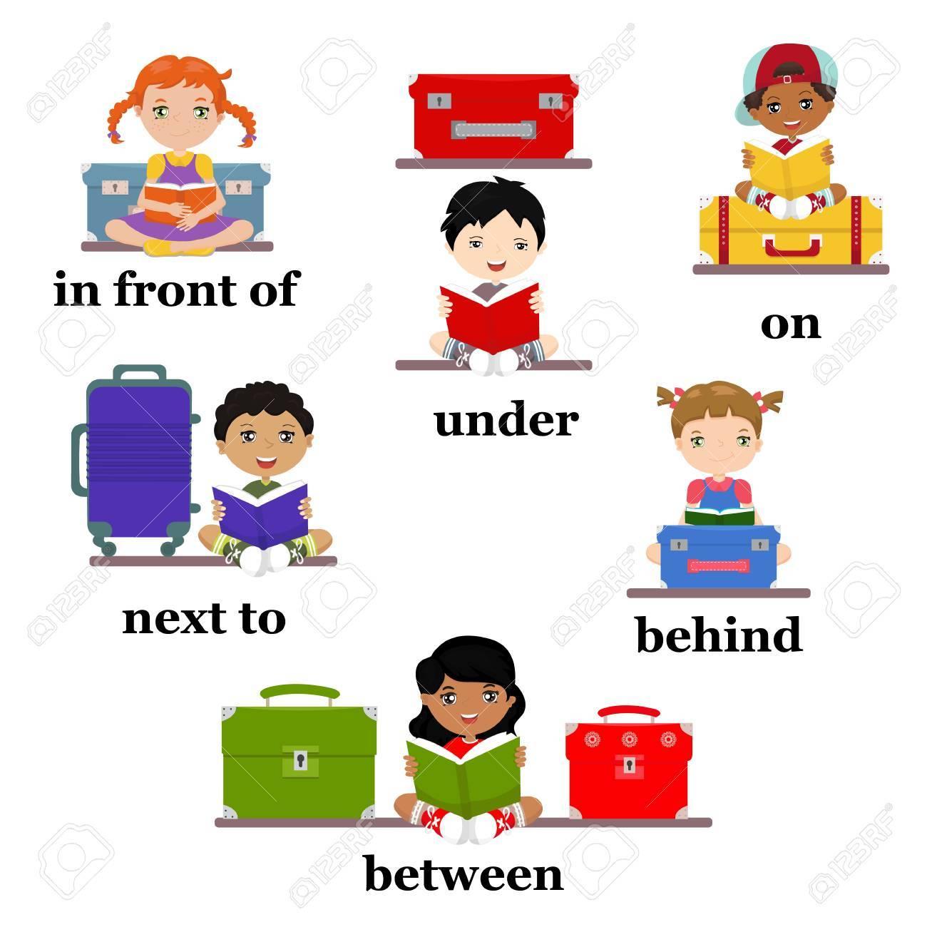 Preposición De Movimiento Para Preescolar - Hoja De Trabajo Para ...