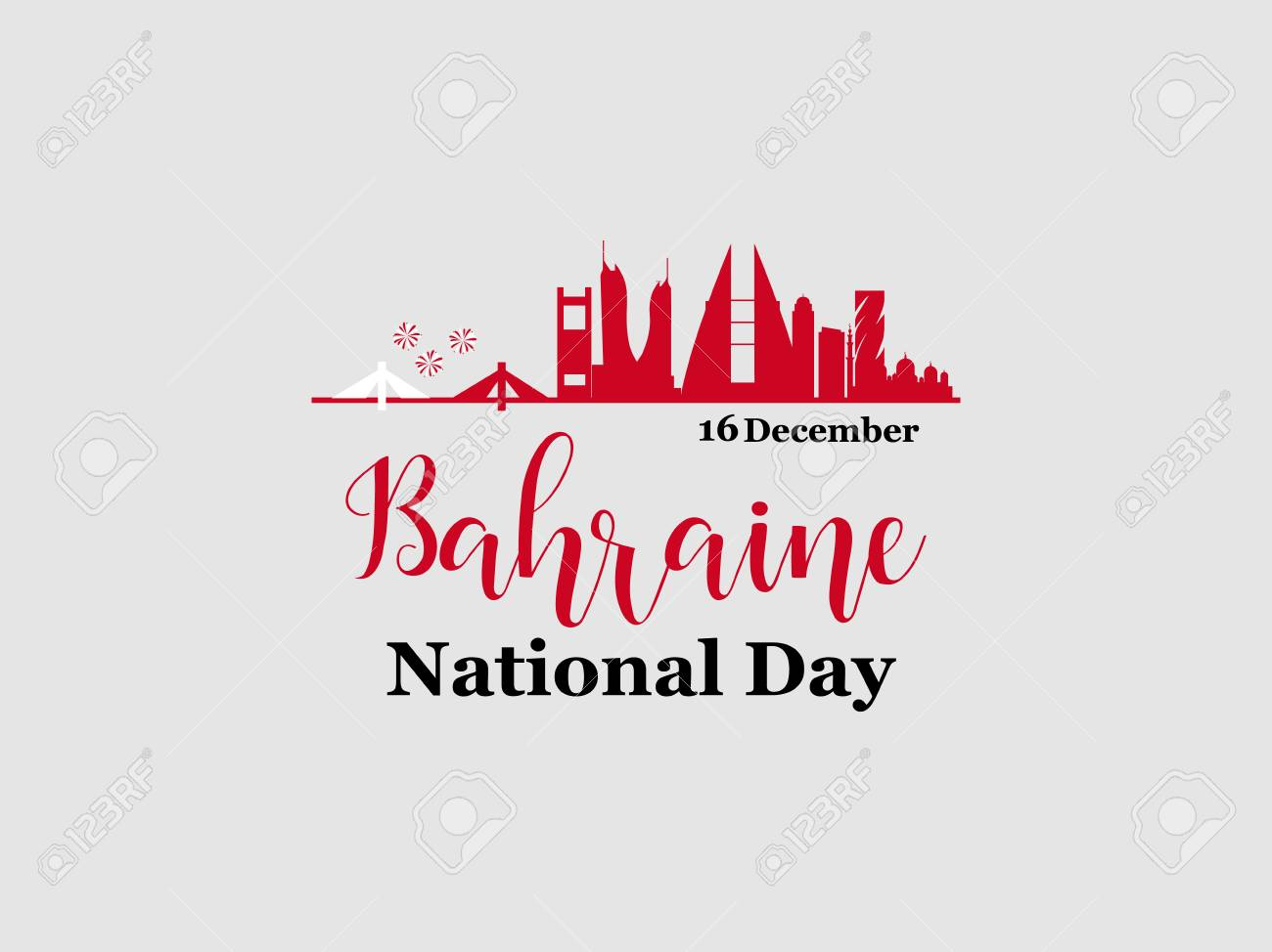 108 Bahrain Independence Day Stock Illustrations Cliparts And
