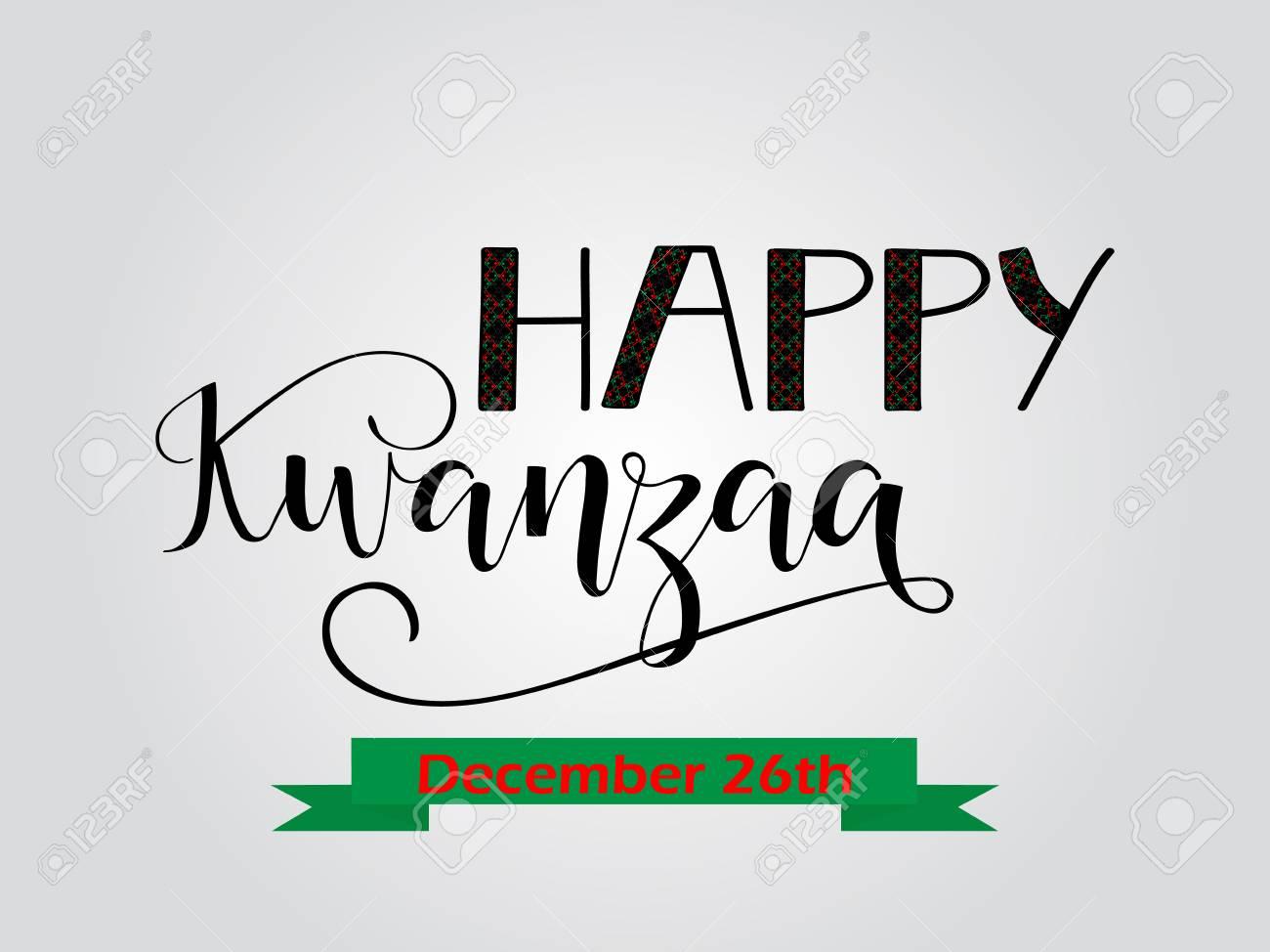 Happy kwanzaa decorative greeting card the celebration honors happy kwanzaa decorative greeting card the celebration honors african heritage in african american culture kristyandbryce Gallery