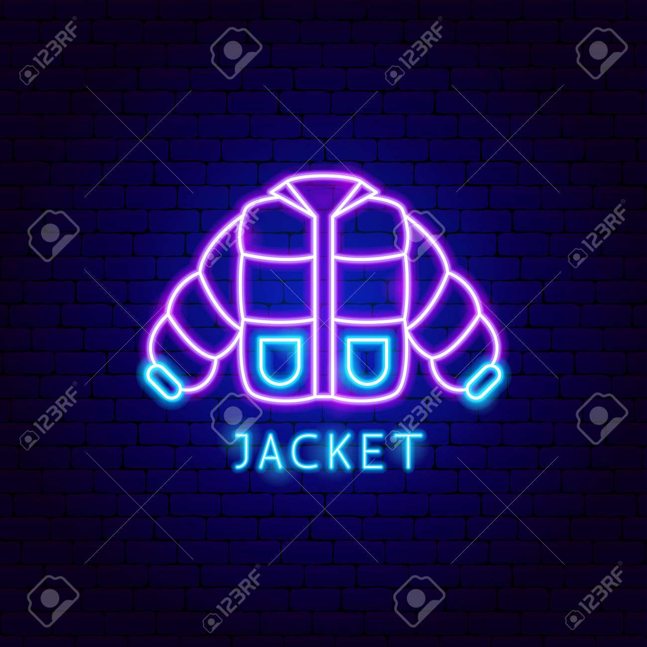 Jacket Neon Label - 168963055