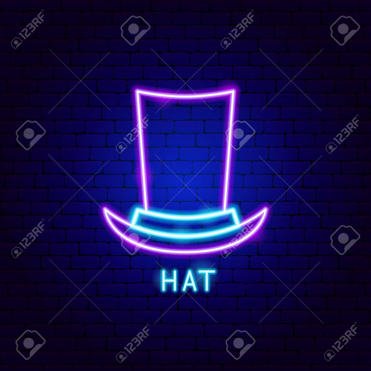 Hat Neon Label - 168963056