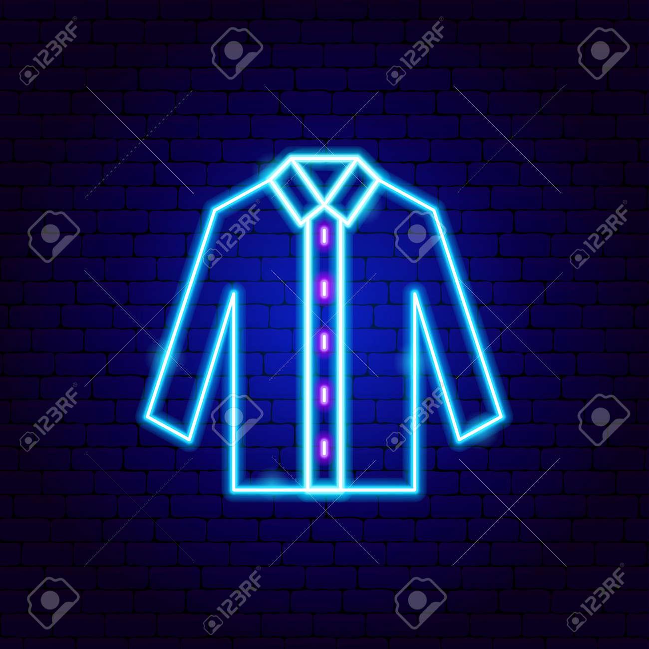 Shirt Neon Sign - 168963308
