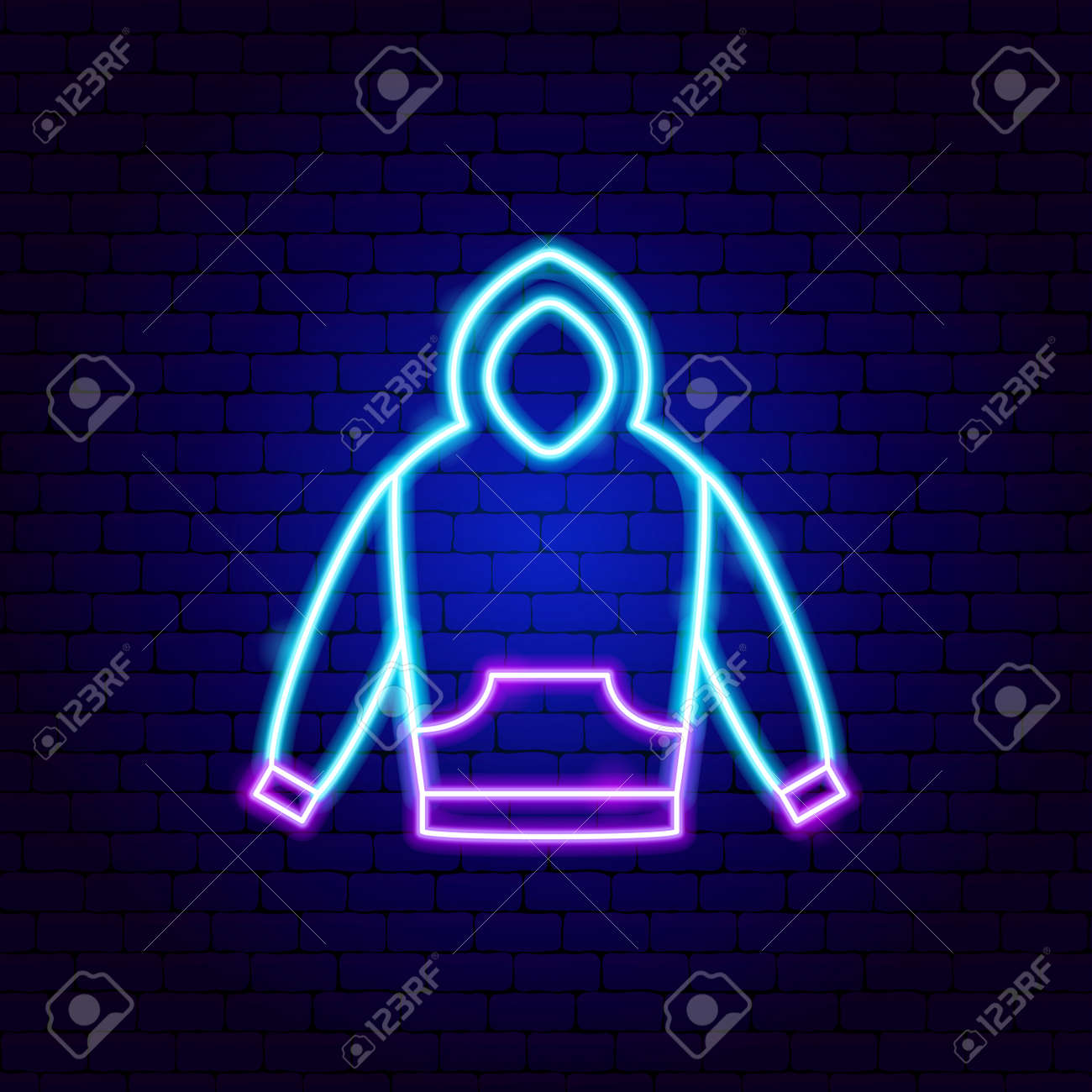 Pullover Neon Sign - 168963329