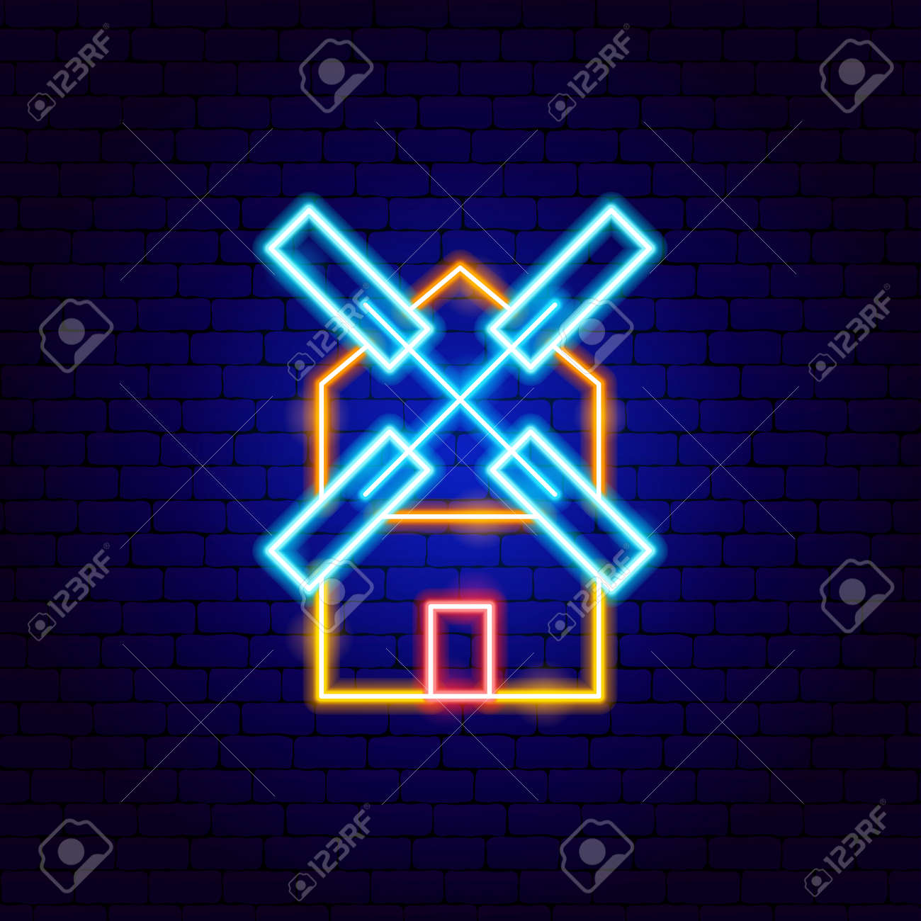 Mill Neon Sign - 169264476