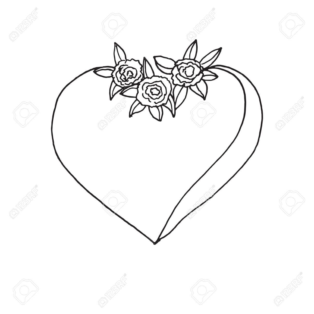 14 De Febrero Feliz Tarjeta Del Día De San Valentín Ilustraciones