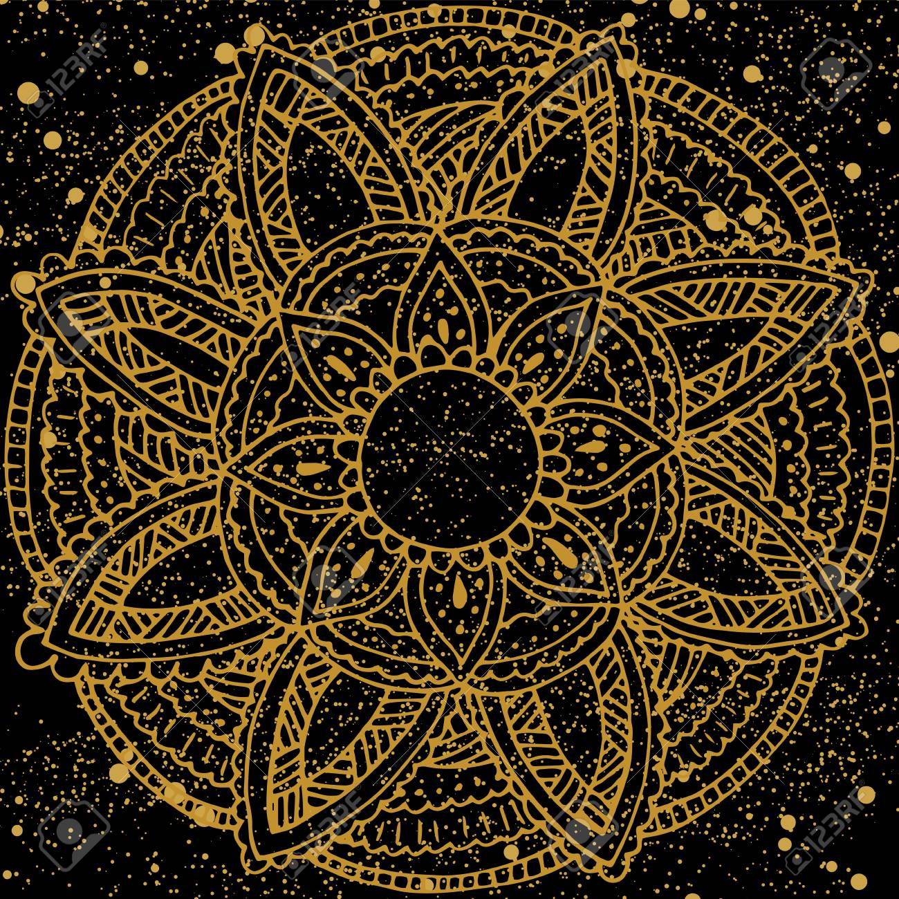 Resultado de imagen de postales de flores doradas