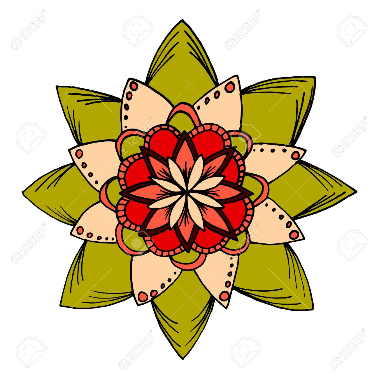 Perfect Flower Coloring Collection - Coloring Page ...
