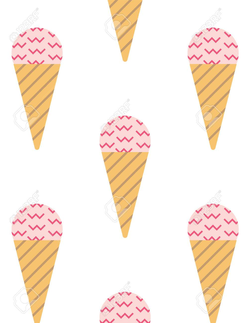 Organizer cover in scandinavian style with ice cream pattern organizer cover in scandinavian style with ice cream pattern perfect for print template maxwellsz