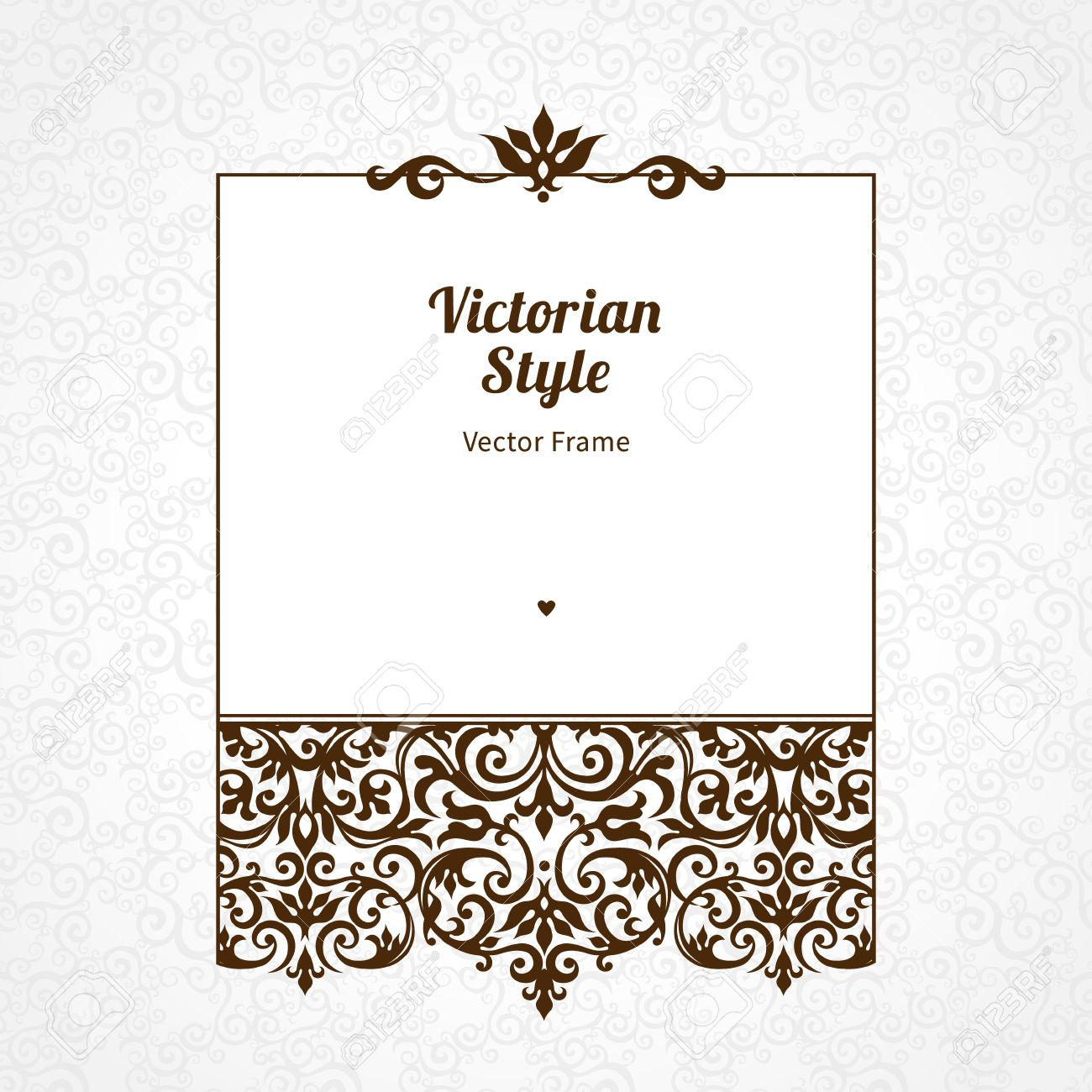 Elegant royal frame with crown vector colourbox - Royal Invitation Scroll Images U0026 Stock Pictures Royalty Free
