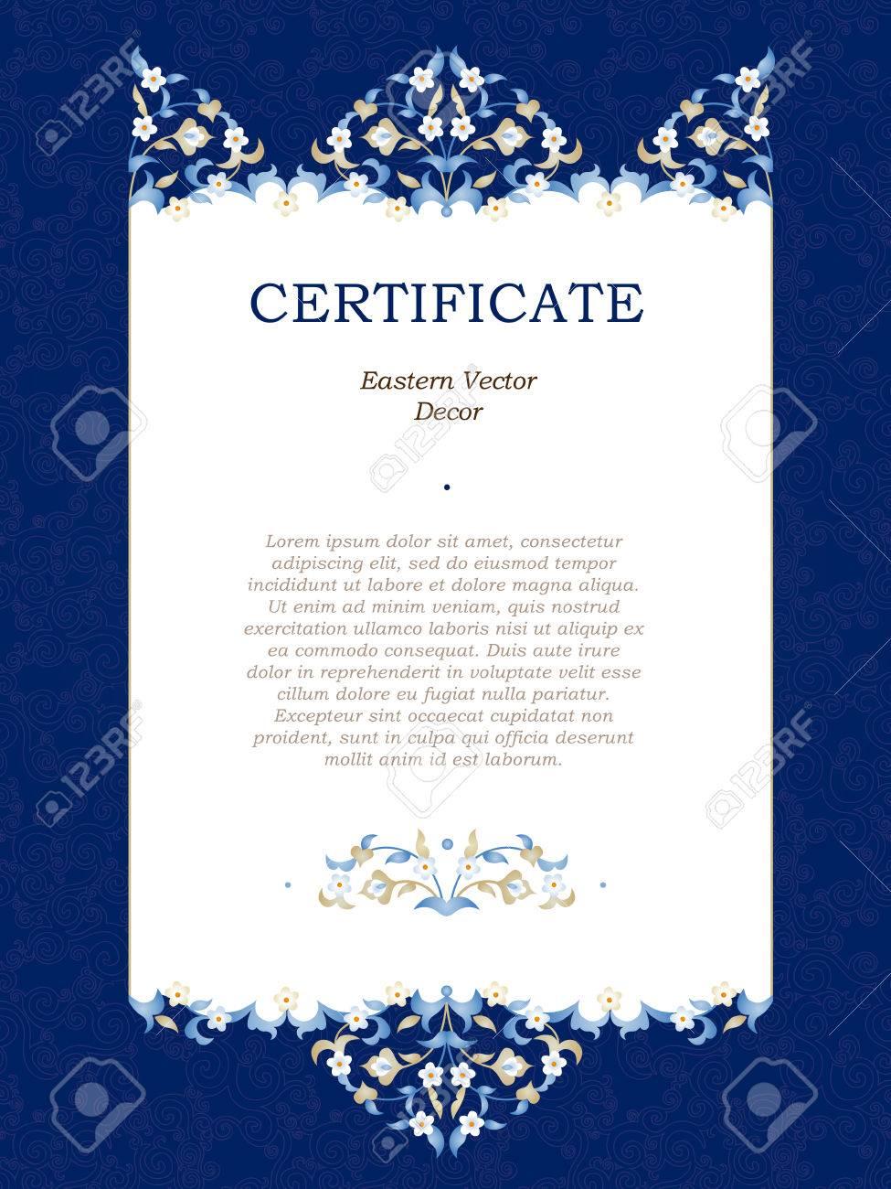 Großartig Offizielle Zertifikatvorlage Zeitgenössisch - Entry Level ...