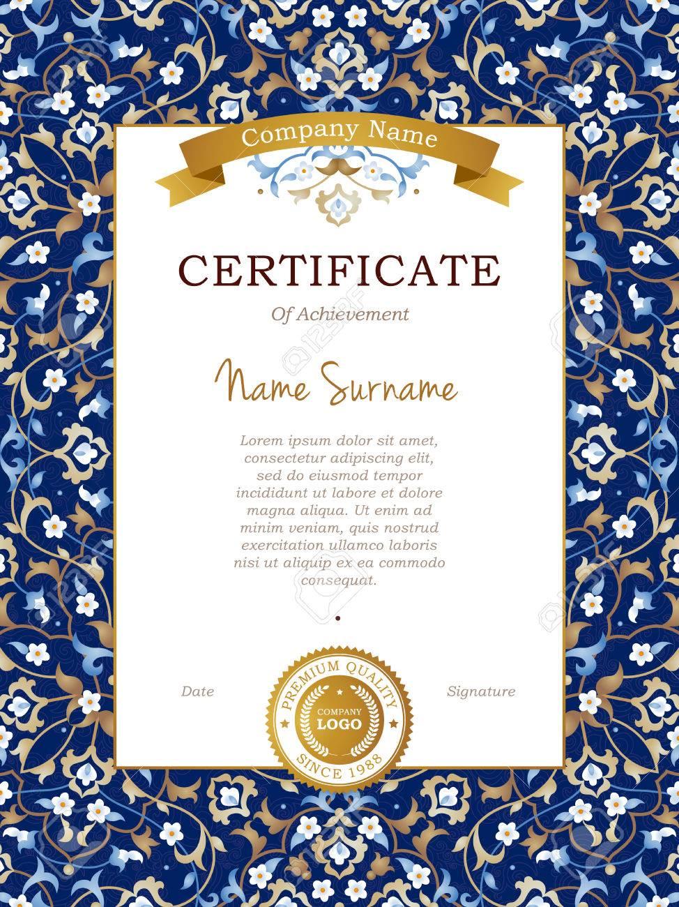 Großzügig Muster Zertifikatvorlage Fotos - Entry Level Resume ...