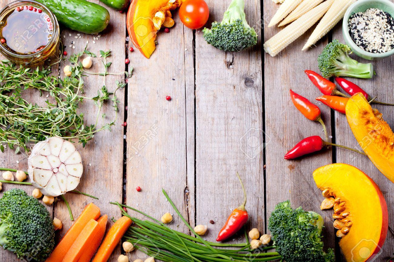 Close up of various colorful raw vegetables - 47638007