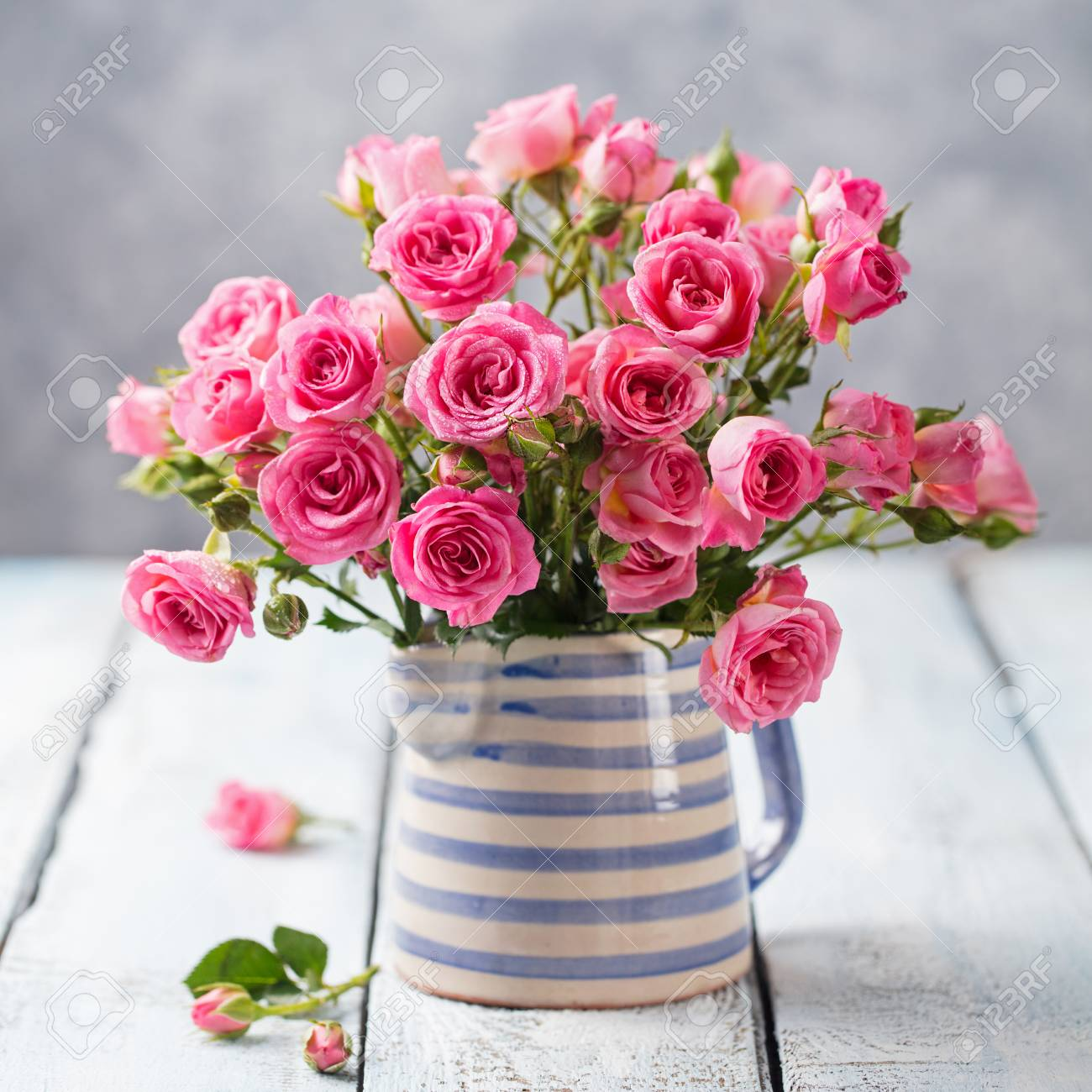 Romantic Bouquet Rose Flower Picturesque Flowe Picturesboss