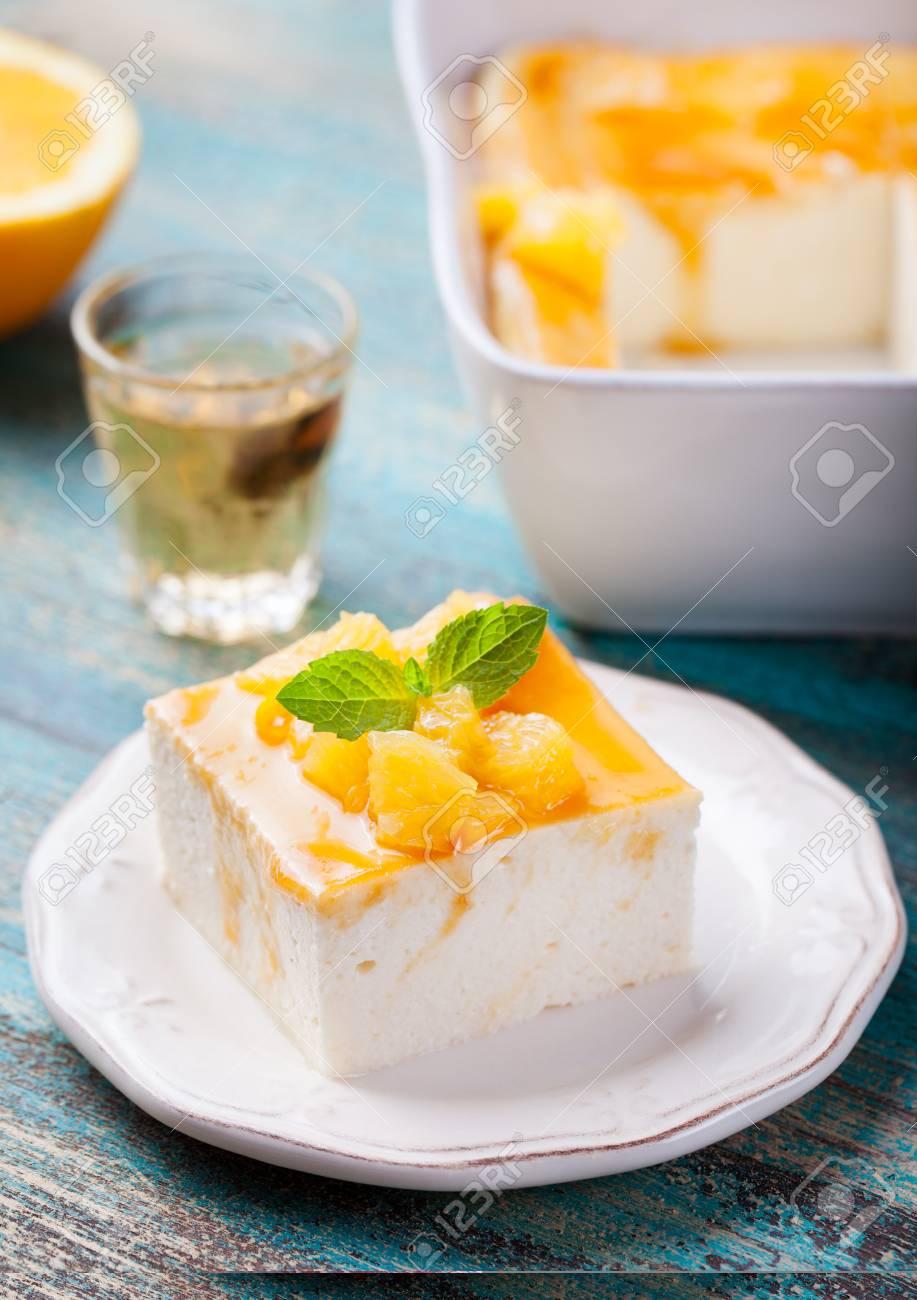 Watch Marmalade-Glazed Orange Cheesecake video