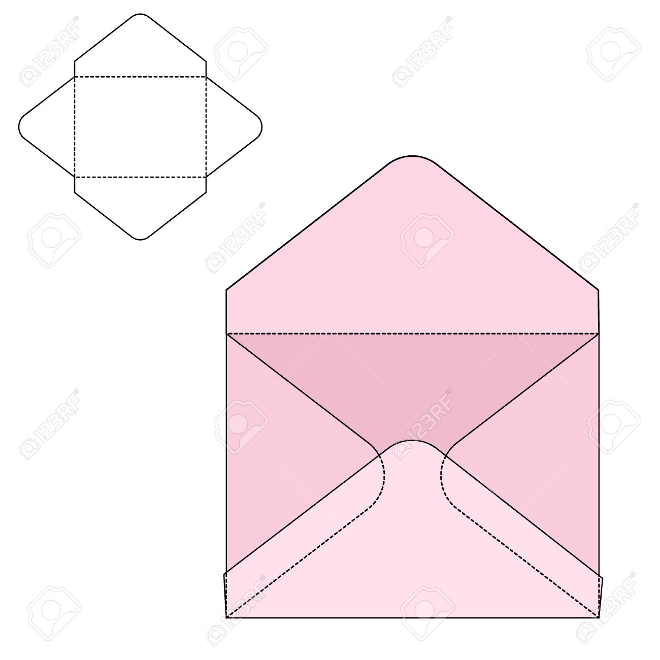 Vector illustration of envelope paper or craft box for design vector illustration of envelope paper or craft box for design website background banner jeuxipadfo Gallery