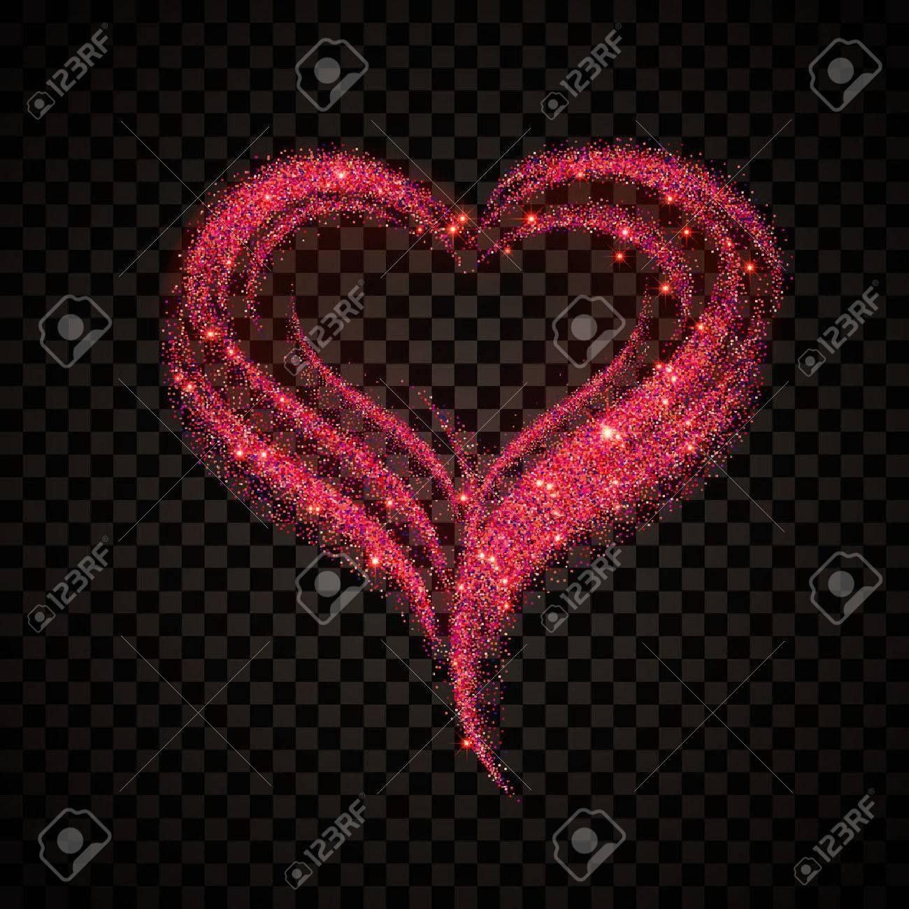 Vector Illustration Of Valentine\'s Day Card For Design, Website ...