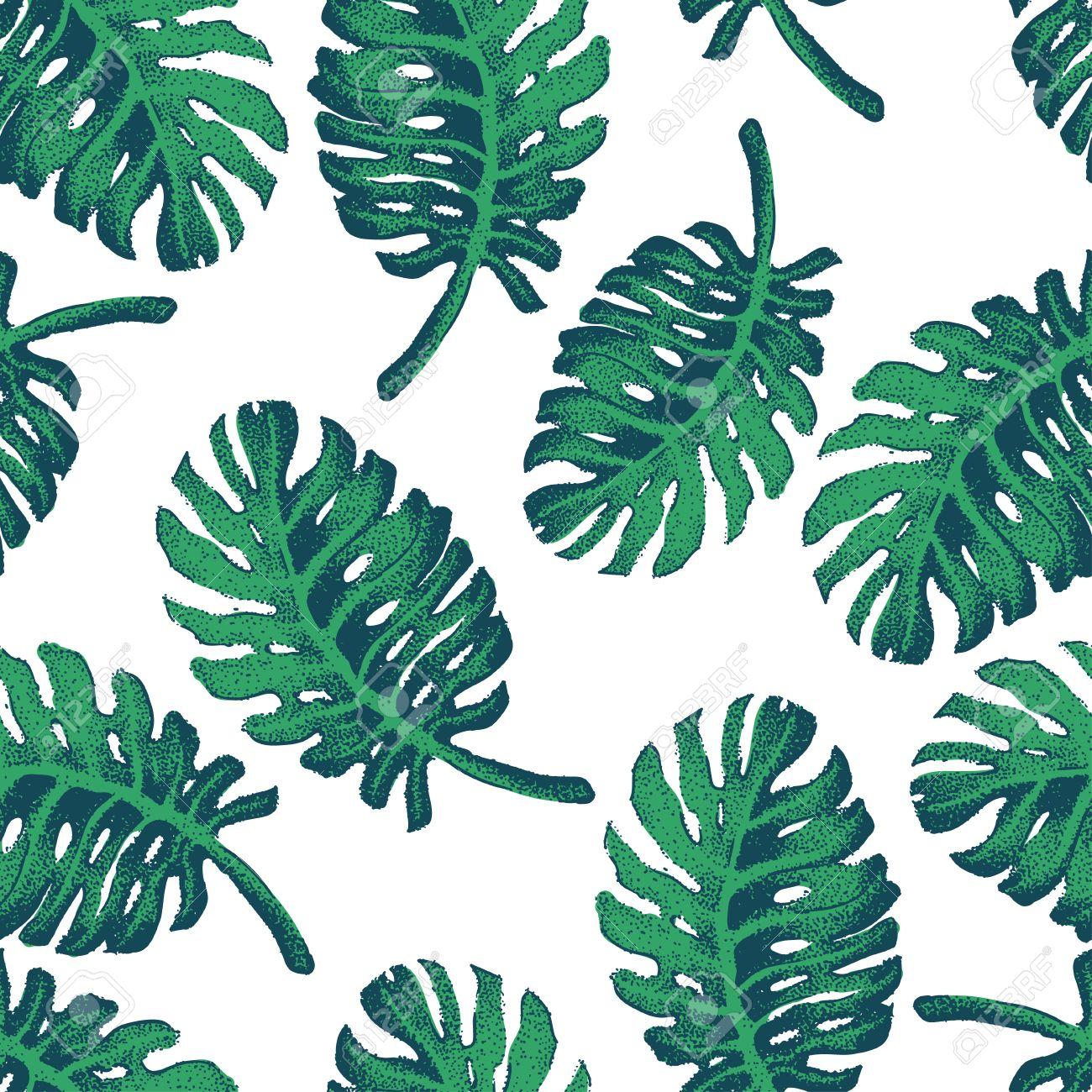 vector illustration of palm tree sketch for design website