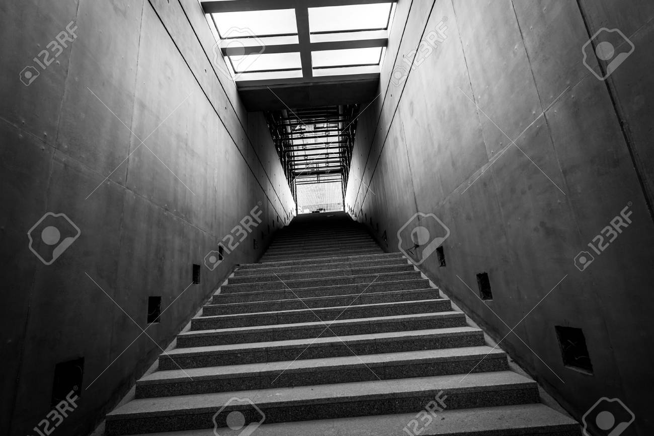 Modern Building Interior Under Construction Stock Photo, Picture ...