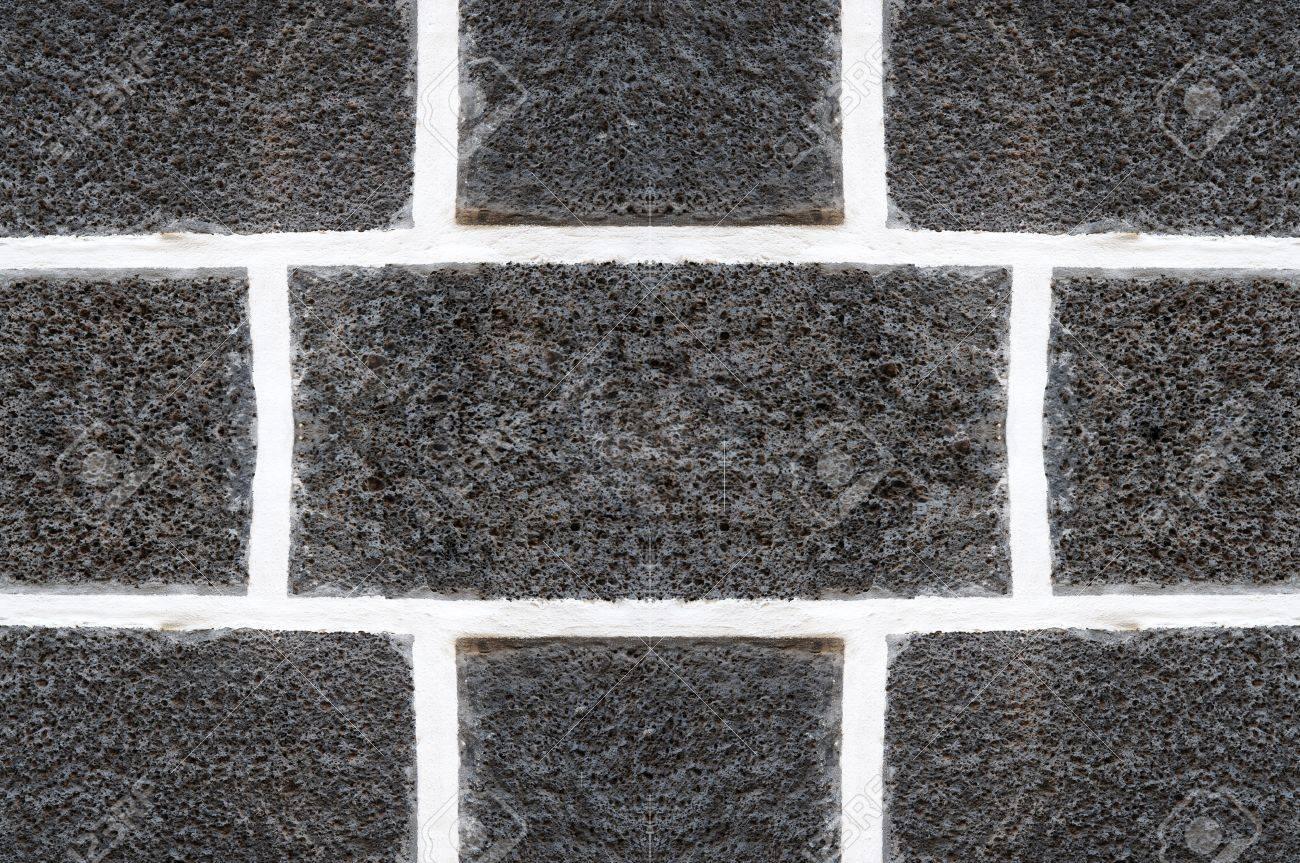 Piastrelle In Pietra Lavica : Pietra lavica con fughe bianche come si è visto a tenerife sfondo