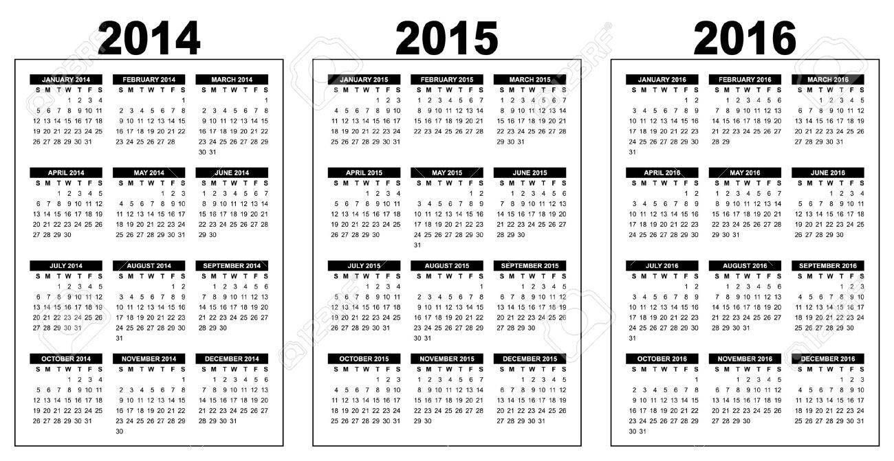 Calendario Panorama.Calendar Almanaque 2016