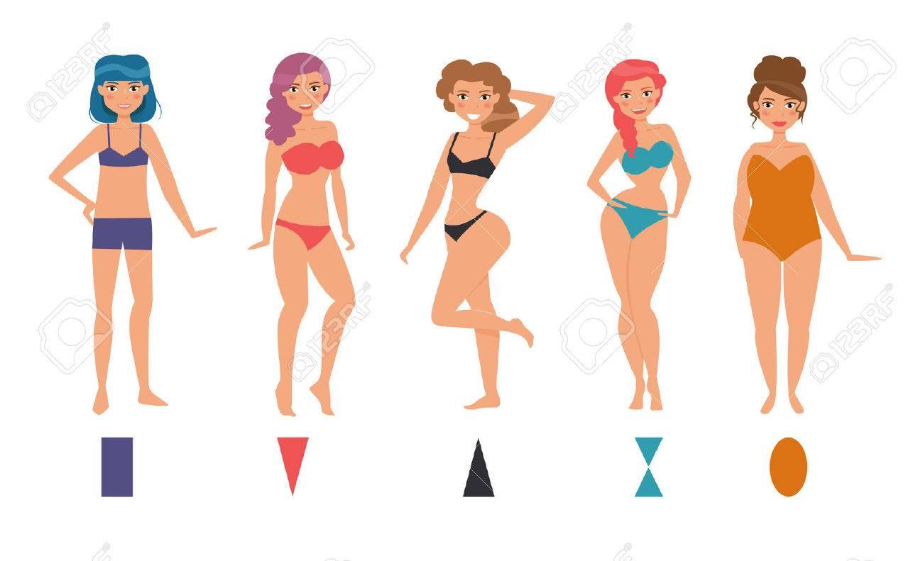 Resultado de imagen de formas femeninas