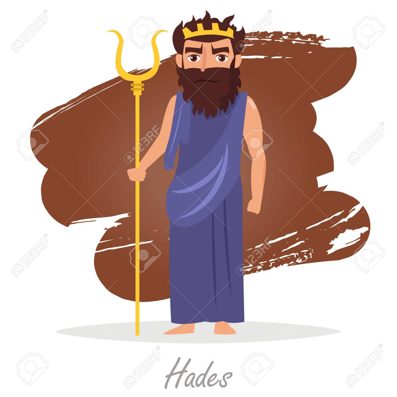 hades greek gods vector royalty free cliparts vectors and stock rh 123rf com hades clipart black and white hades god clipart