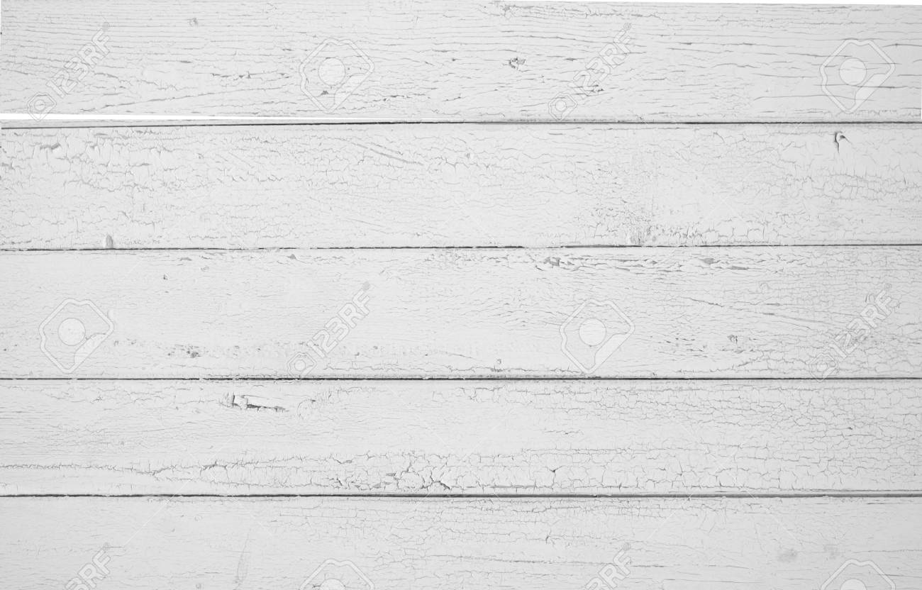 white old wooden fence. wood palisade background. planks texture - 91701958