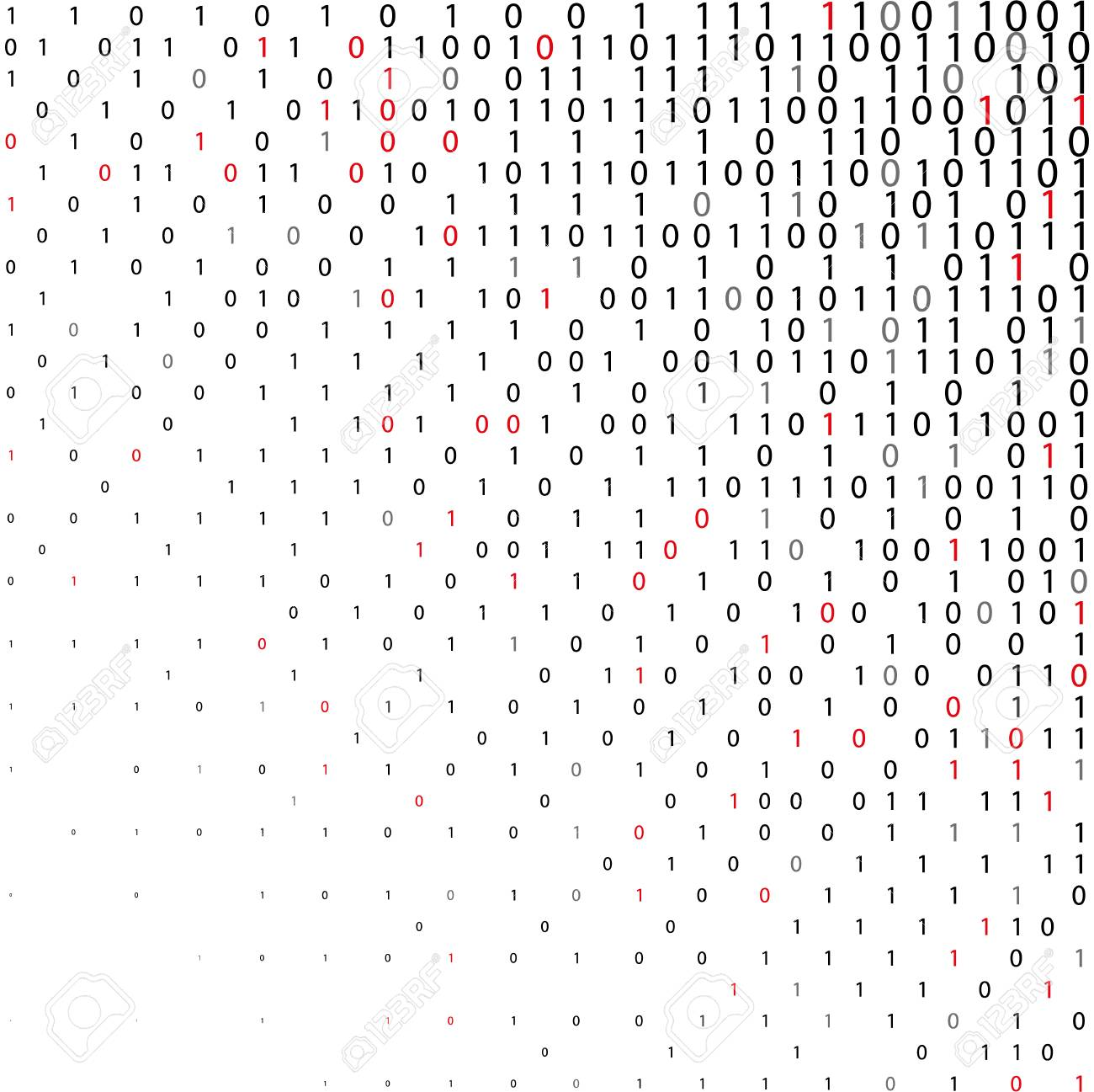 Abstract binary code Technology Background  Data and technology,