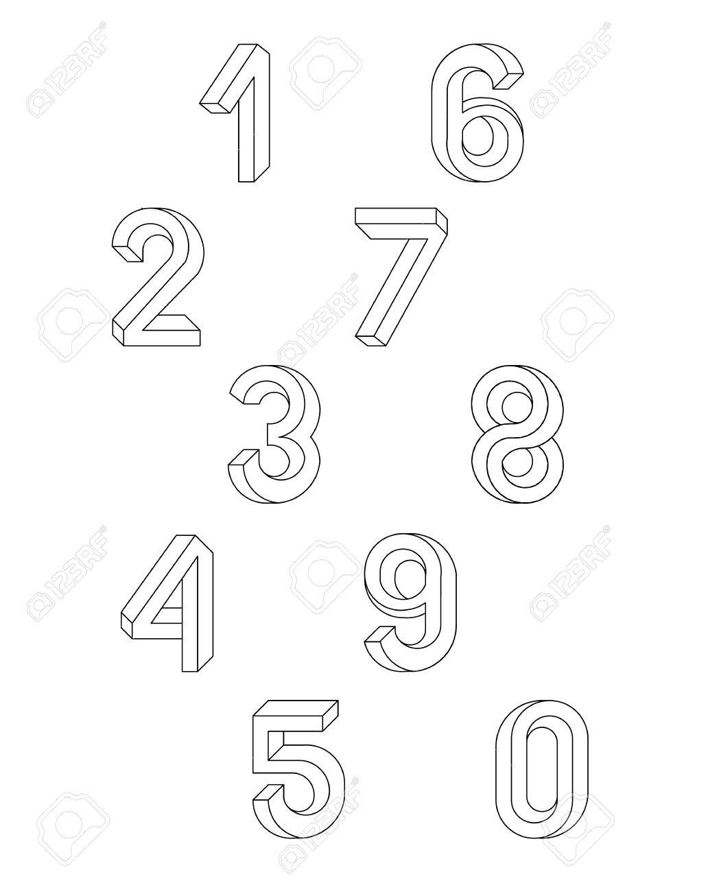Impossible Geometry numbers  Set of vector numbers constructed