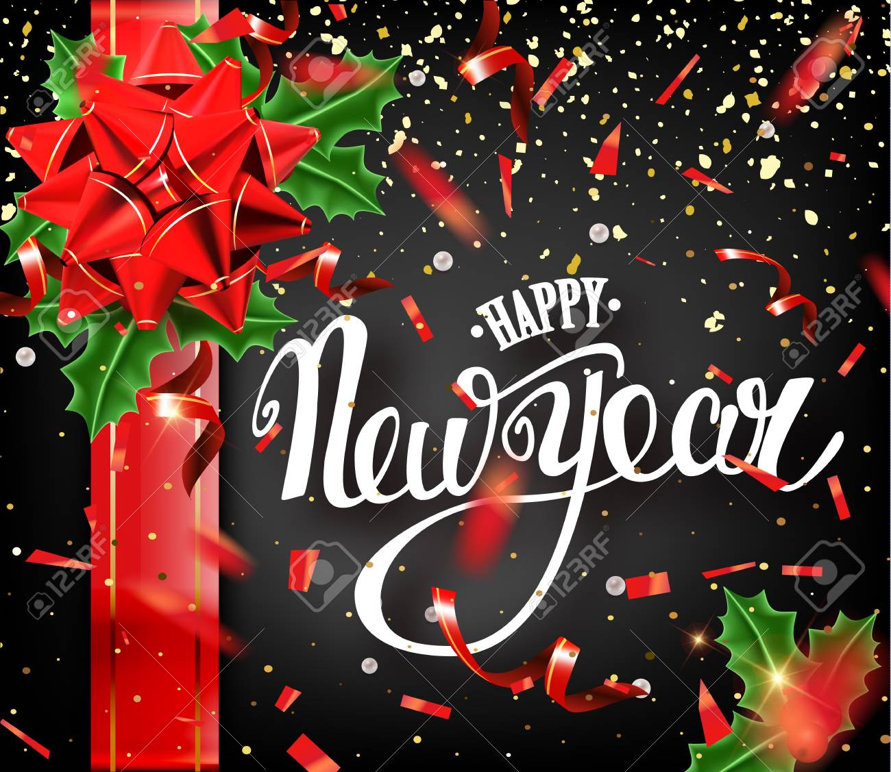 happy new year banner stock vector 89278236
