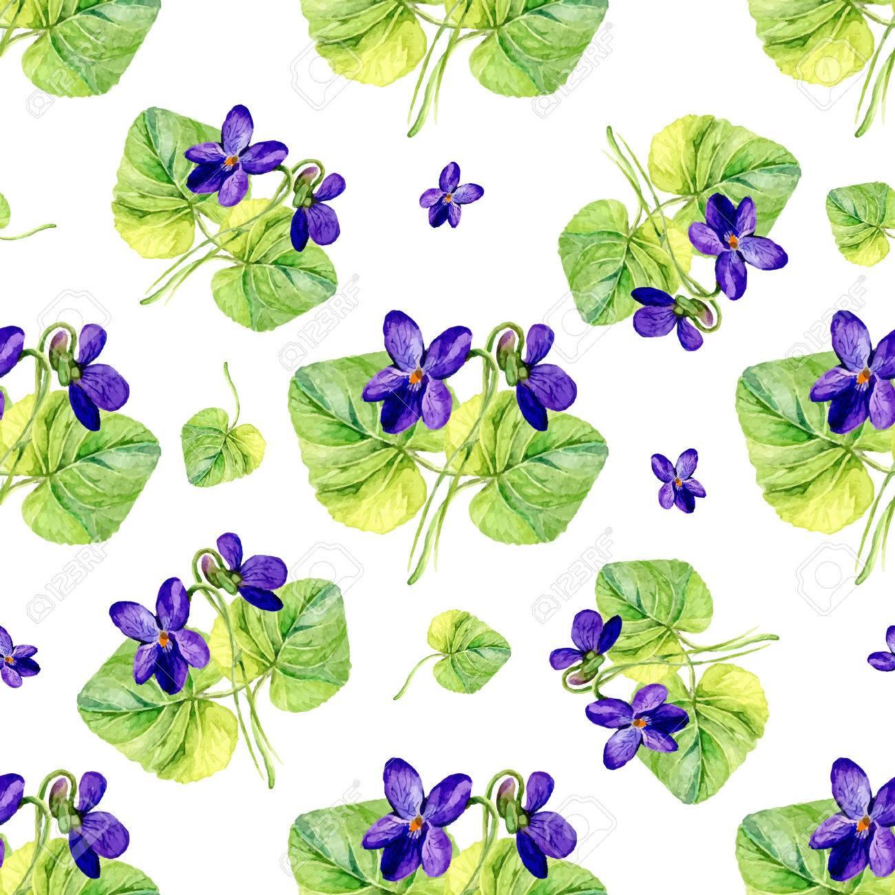 flores preciosas foto de archivo vector de fondo sin fisuras con las acuarelas violetas sobre fondo - Fotos De Ramos De Flores Preciosas