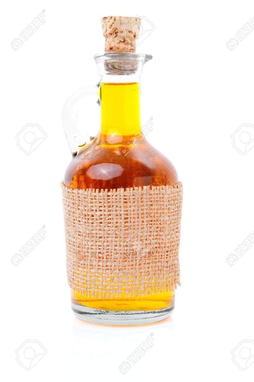 bottle of whiskey / scotch / wine on white Stock Photo - 9507919