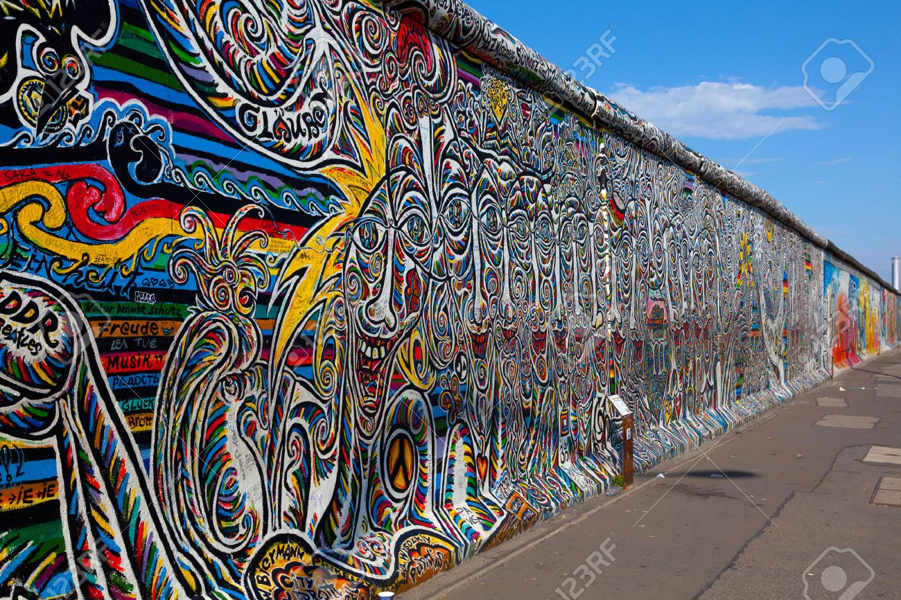 Attractive Berlin Wall, Berlin Germany The Largest Outdoor Art Gallery In The World On  A Segment