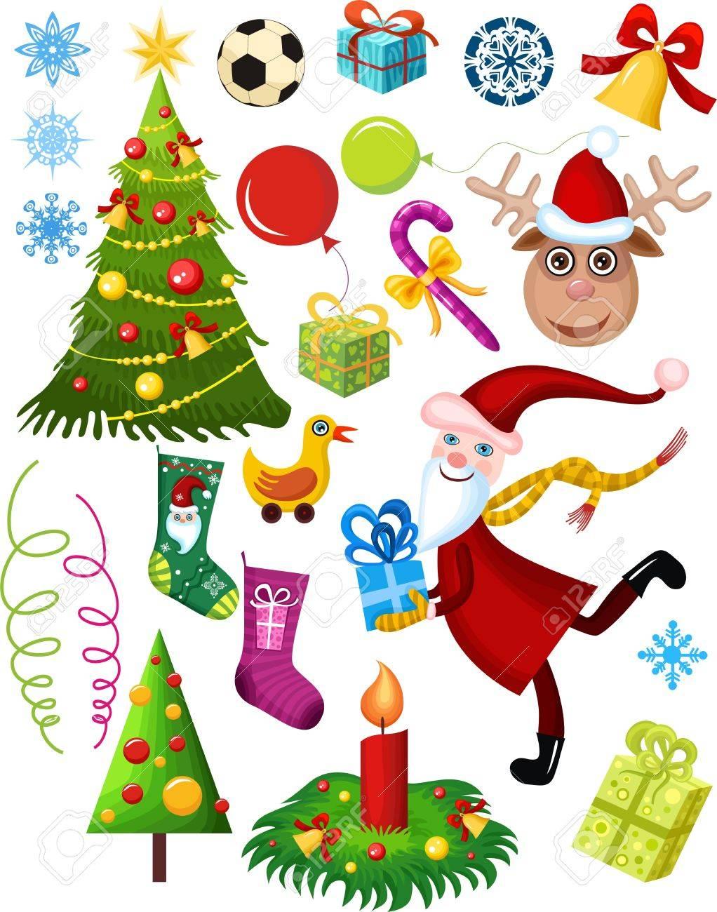 christmas set Stock Vector - 5770709