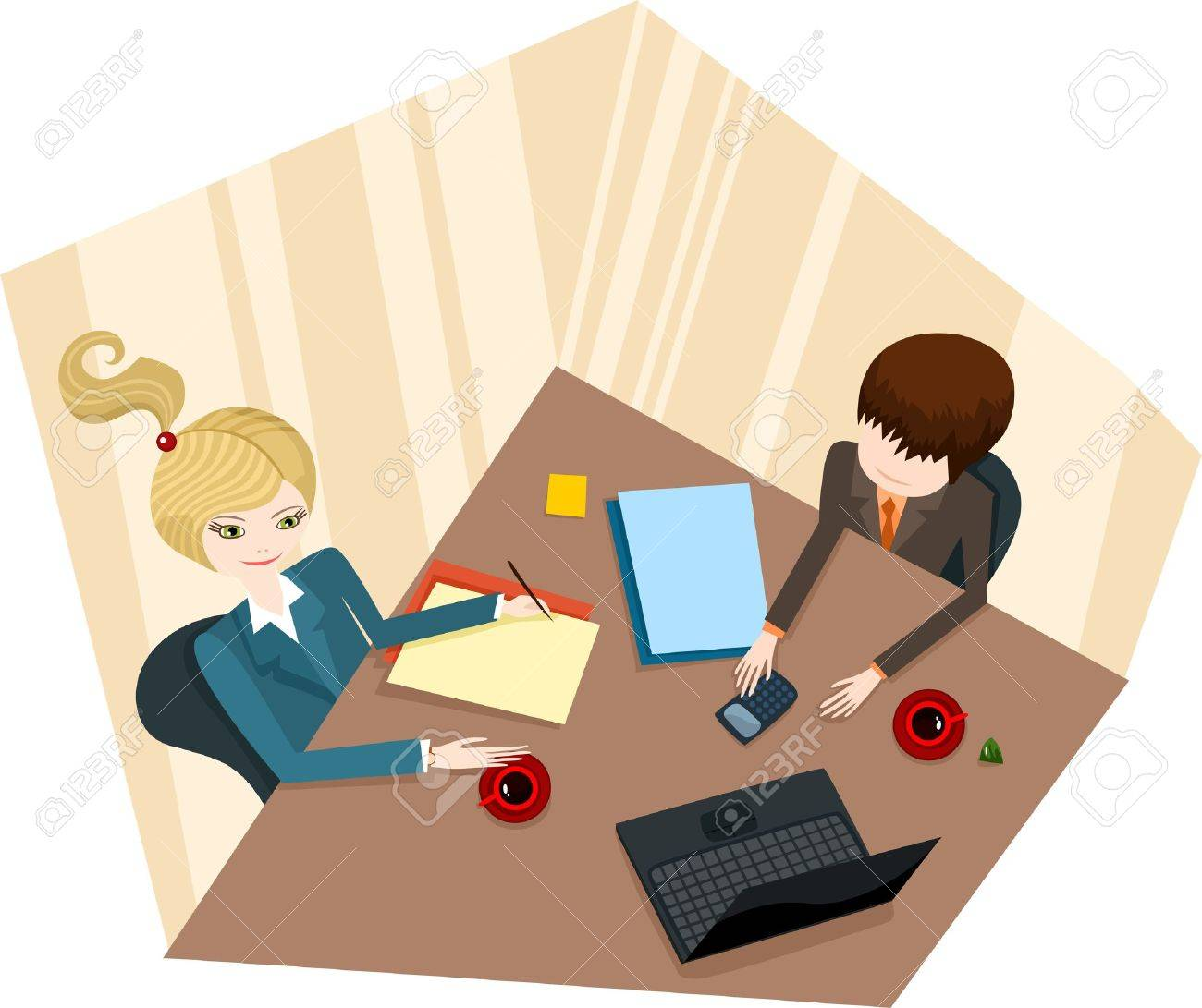 business meeting Stock Vector - 6382036