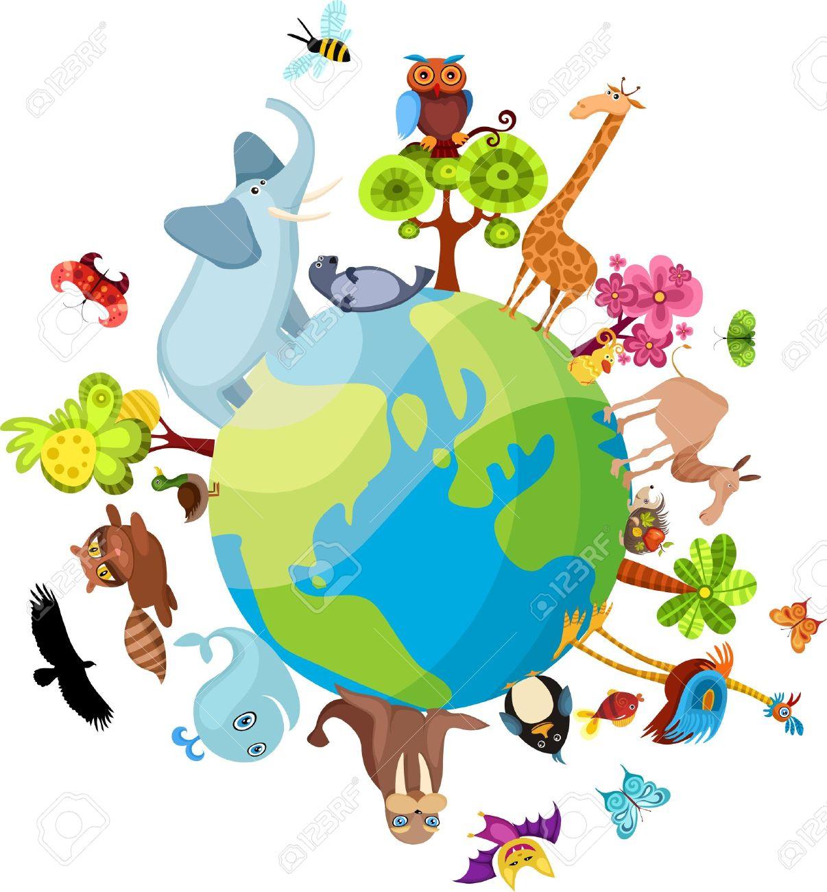 Животные на планете земля картинки 3