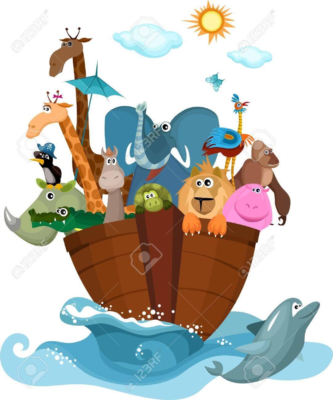 205 noah s ark stock vector illustration and royalty free noah s