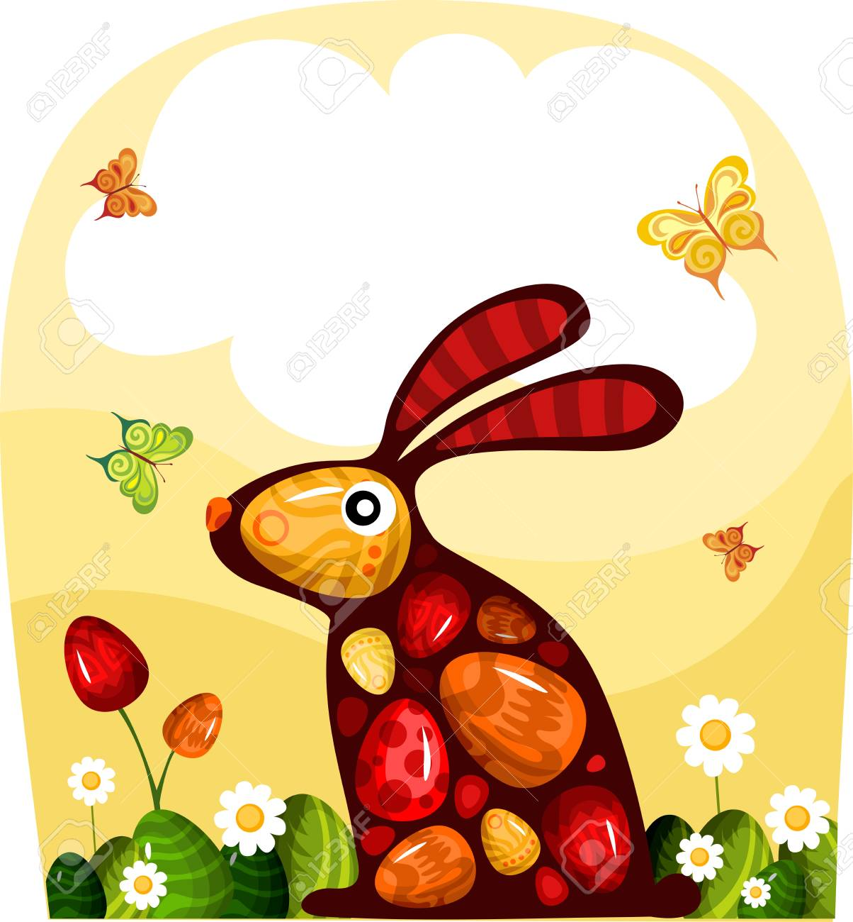 easter card Stock Vector - 8918055
