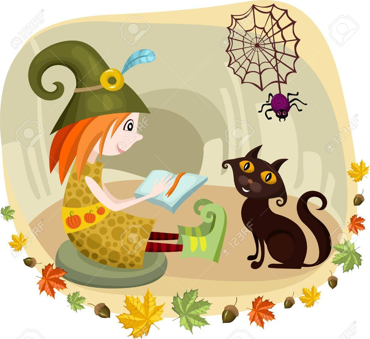halloween card Stock Vector - 10387147