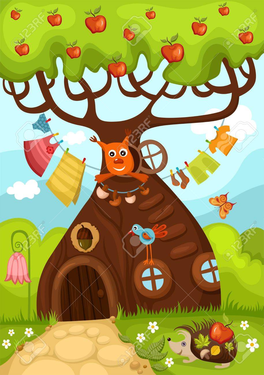 fairy tree Stock Vector - 10895532