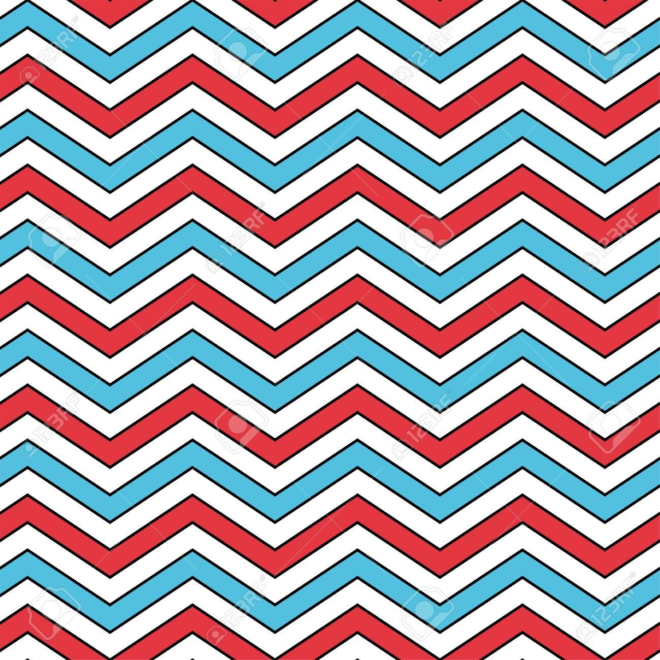 4ca51908d9 Seamless Chevron Pattern In Blue