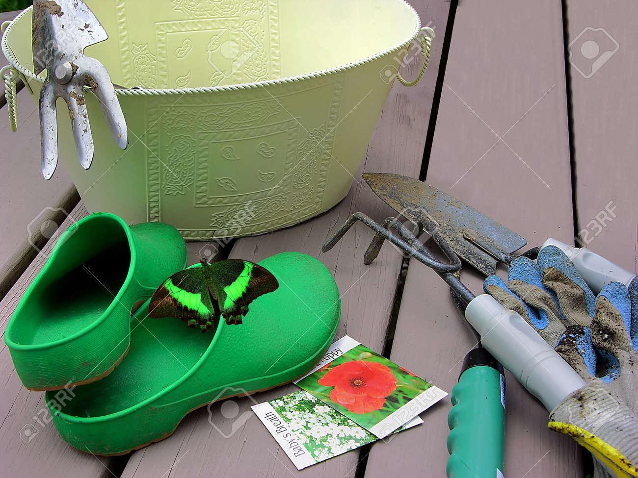 Gardening Gear Stock Photo   235968