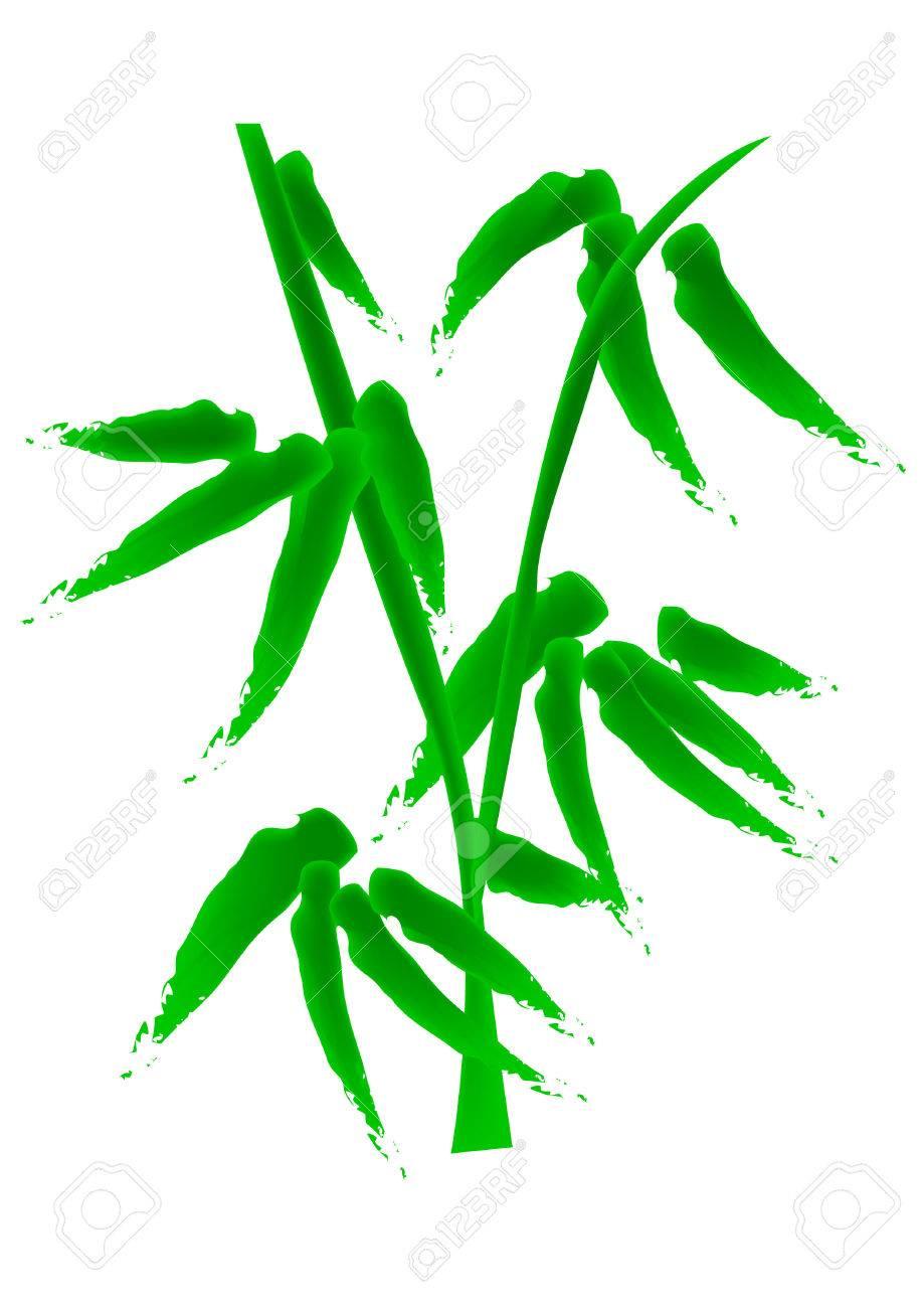 Bambus Vektor Illustration Speziell Fur Chinesische Neue Jahr